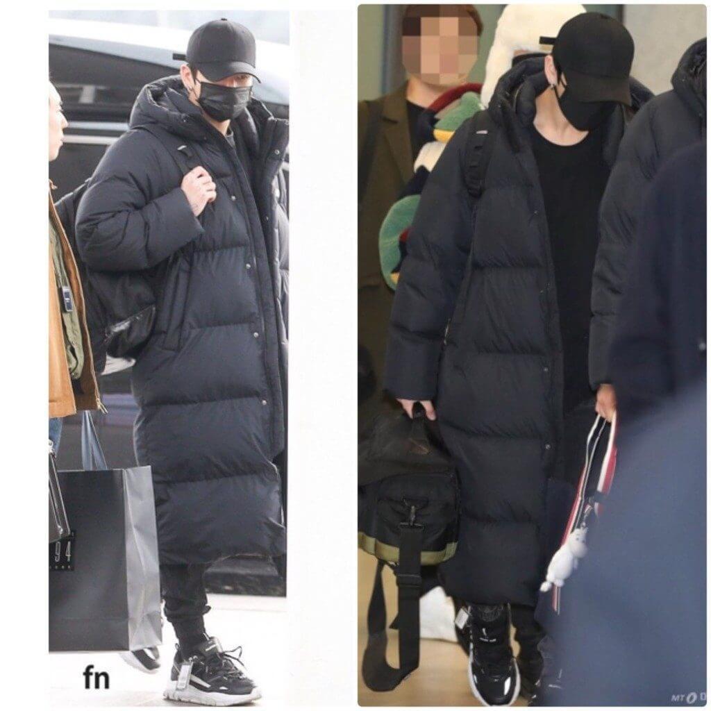 BTSのジョンググが着用したと話題になったアキクラシック「RUMBLE BLACK」