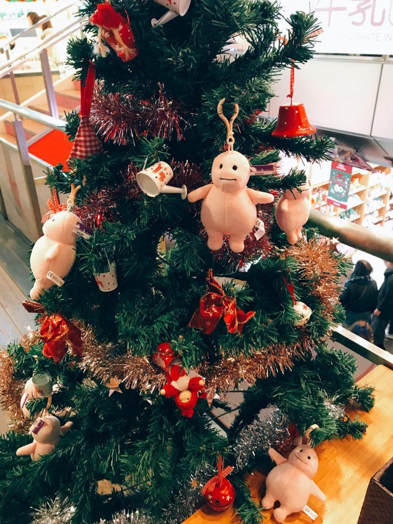 脂肪ちゃんのクリスマスツリー