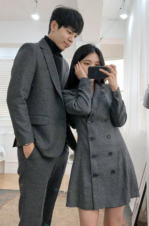 スーツ×ワンピース