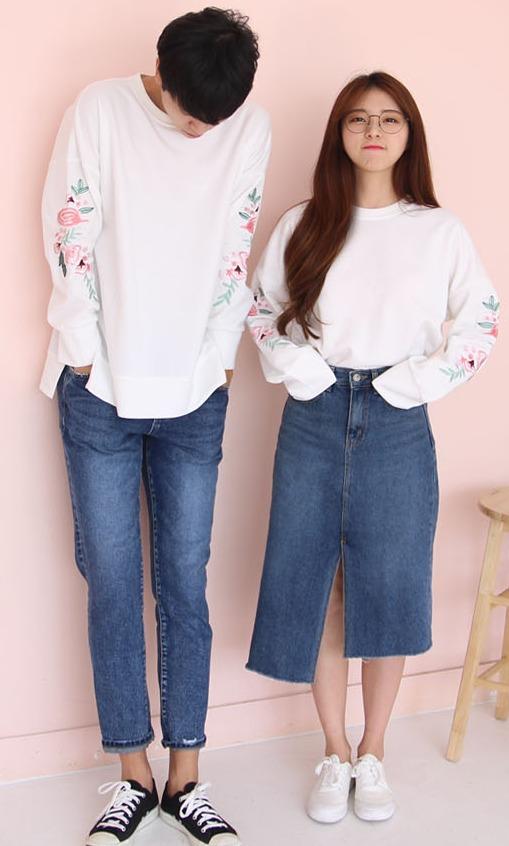 スカート×パンツ