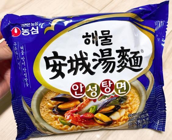 農心 海鮮安城湯麺