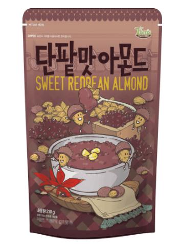 スイートレッドビーン(小豆)アーモンド