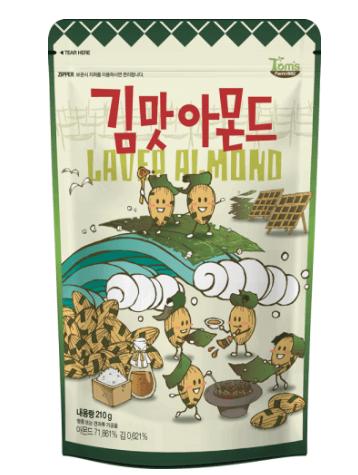 ギムマト(韓国海苔)アーモンド
