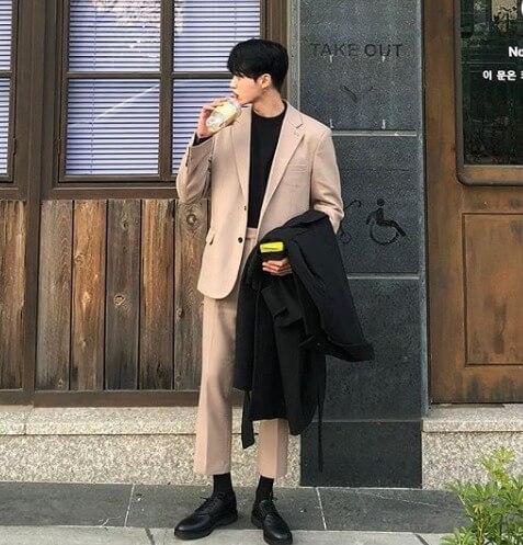 韓国メンズファッション女子ウケNO5!セットアップ系