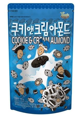 クッキー&クリームアーモンド